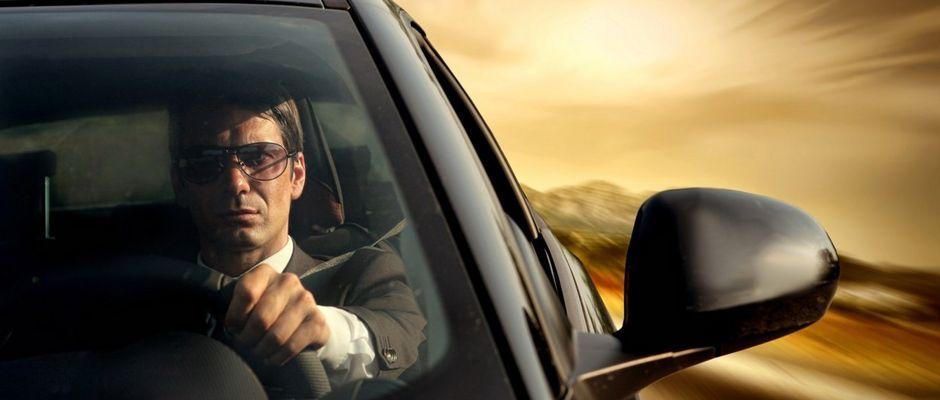 директор и автомобиль